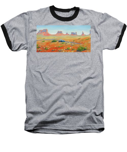 Monument Valley Vintage Baseball T-Shirt