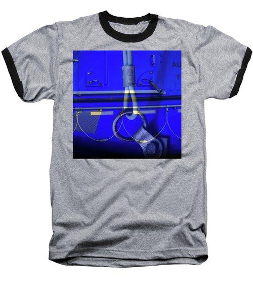 Baseball T-Shirt featuring the photograph Mood Blue by Wayne Sherriff