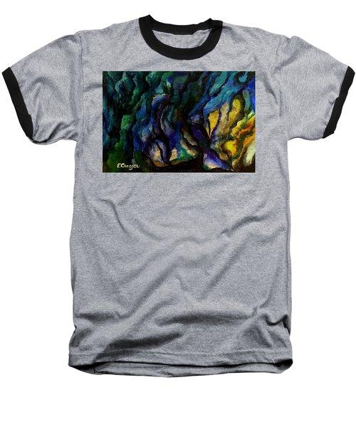 Moody Bleu Baseball T-Shirt