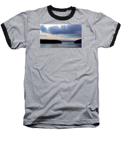 Moody Blue Baseball T-Shirt