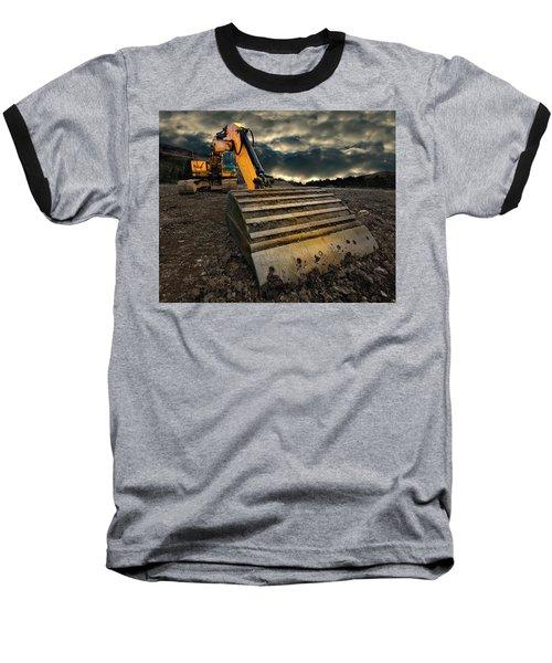 Moody Excavator Baseball T-Shirt