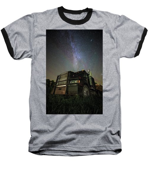 Baseball T-Shirt featuring the photograph Moody Trucking by Aaron J Groen