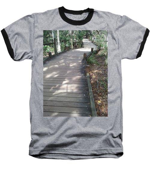 Mooloolaba Path Baseball T-Shirt