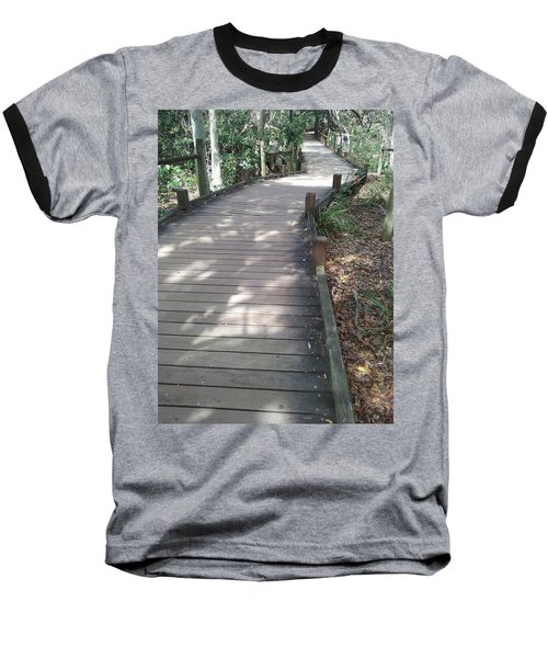 Mooloolaba Path Baseball T-Shirt