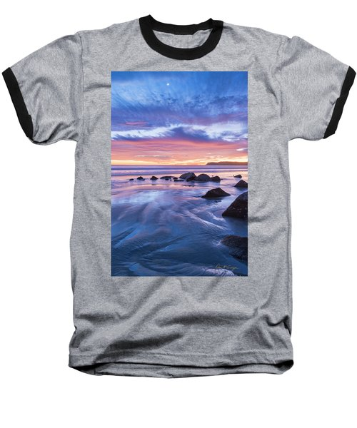 Moon Above Baseball T-Shirt