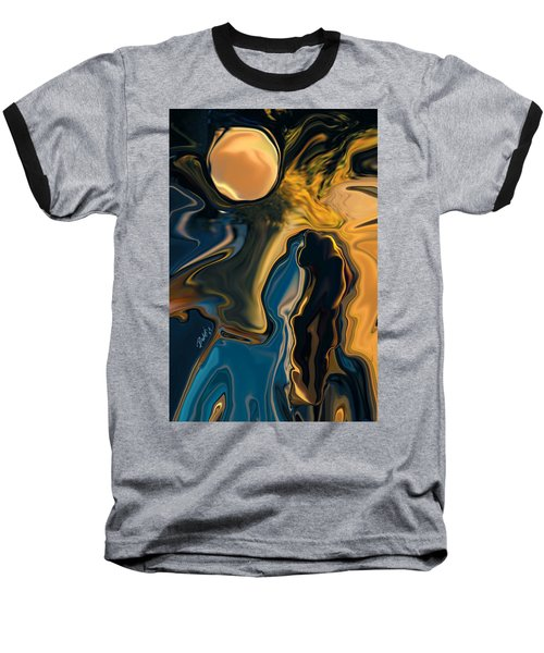 Moon And Fiance Baseball T-Shirt