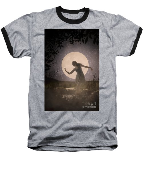 Moon Dance 001 Baseball T-Shirt