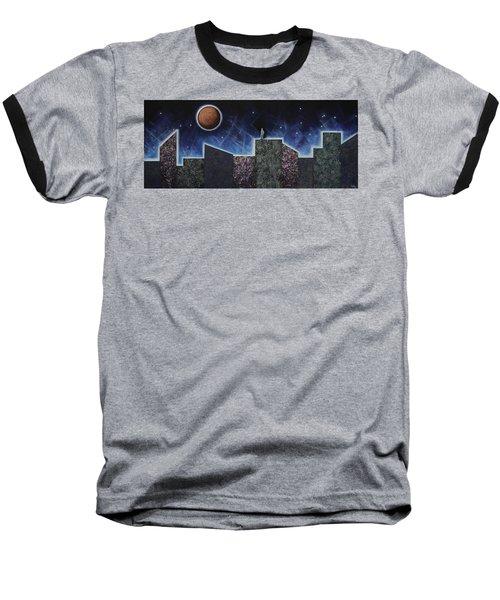 Moon Eclipse Baseball T-Shirt