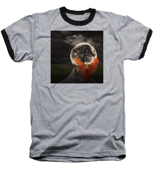 Moon Goddess Baseball T-Shirt