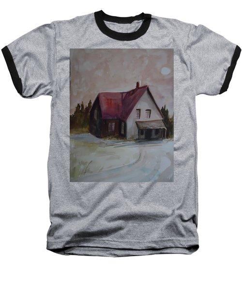 Moon House Baseball T-Shirt