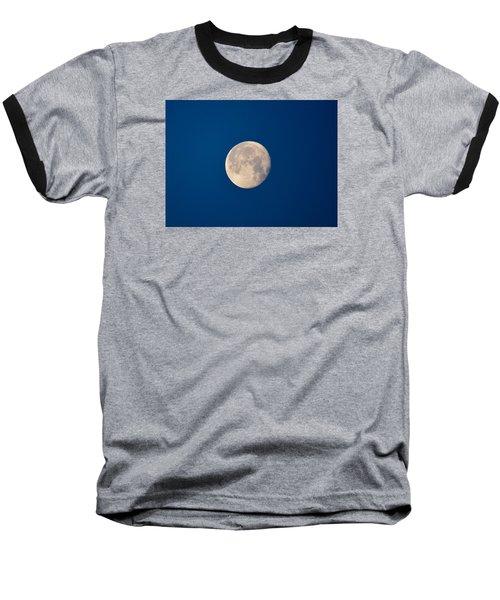 Moon In The Morning Baseball T-Shirt by Dacia Doroff