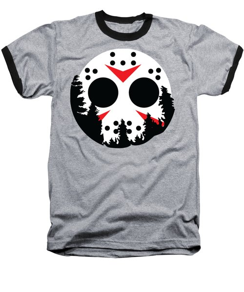 Moon Jason Baseball T-Shirt