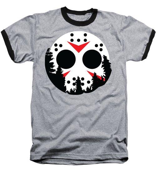Moon Jason Baseball T-Shirt