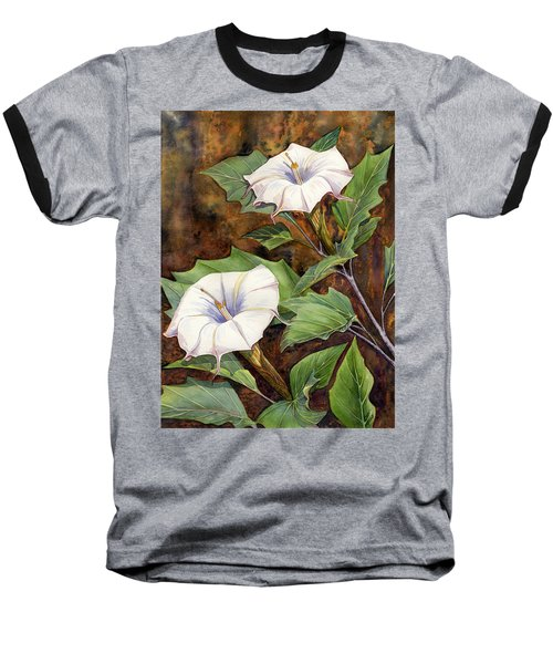 Moon Lilies Baseball T-Shirt