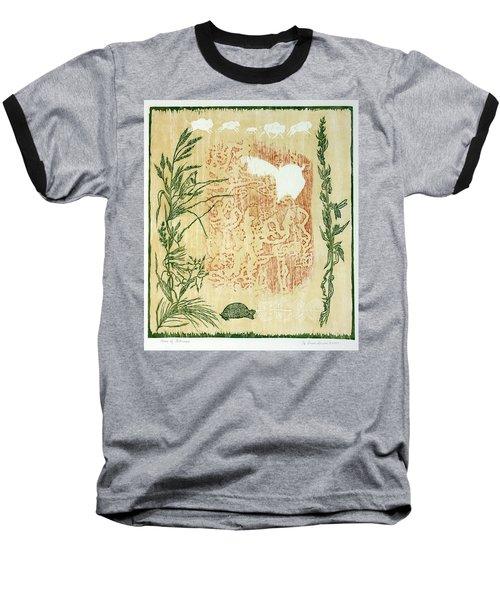 Moon Of Fatness Baseball T-Shirt