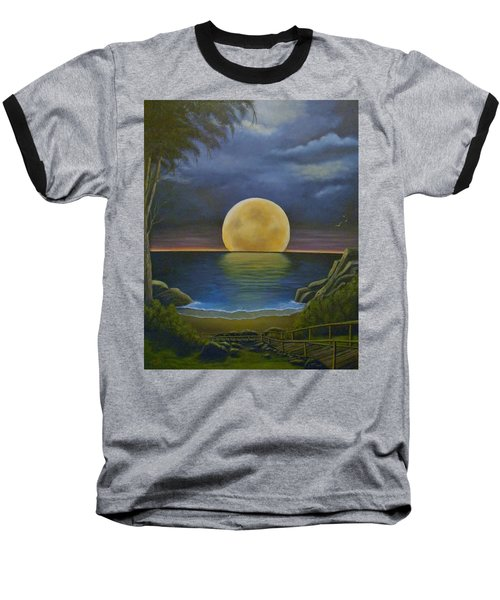 Moon Of My Dreams II Baseball T-Shirt