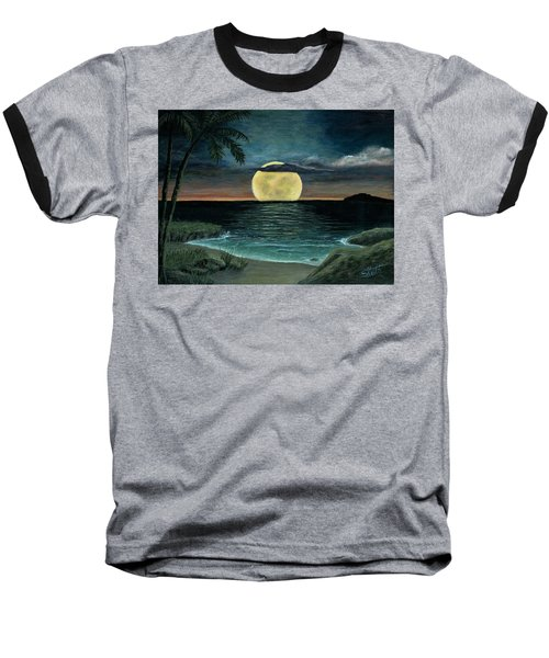 Moon Of My Dreams IIi Baseball T-Shirt