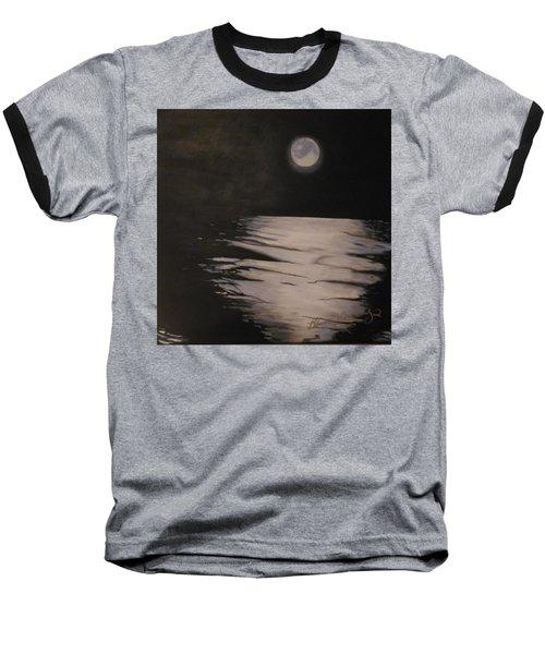 Moon Over The Wedge Baseball T-Shirt