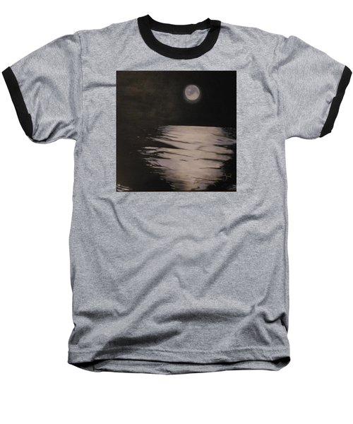 Moon Over The Wedge Baseball T-Shirt