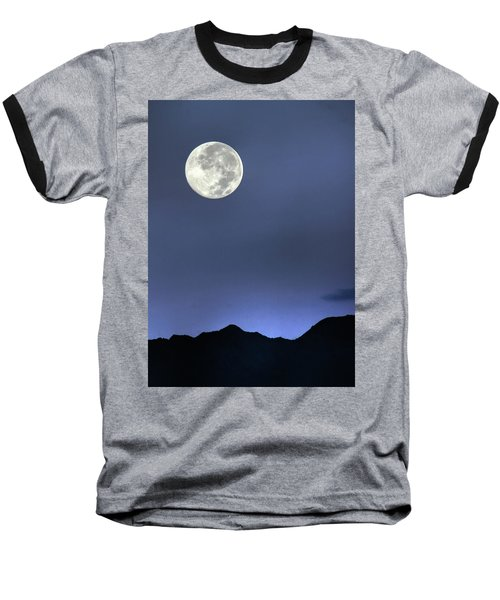 Moon Over Ko'olau Baseball T-Shirt