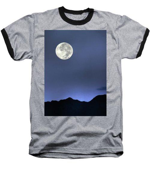 Moon Over Ko'olau Baseball T-Shirt