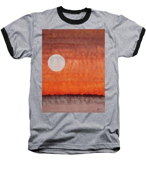 Moon Over Mojave Baseball T-Shirt