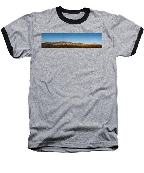 Moon Over Pintada Mountain At Sunrise In The San Juan Mountains, Baseball T-Shirt by John Brink