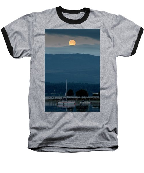 Moon Over The Spit Baseball T-Shirt
