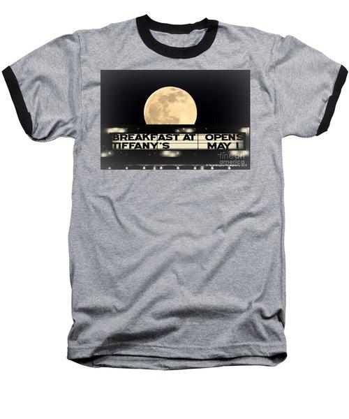 Moon Over Tiffany's Baseball T-Shirt