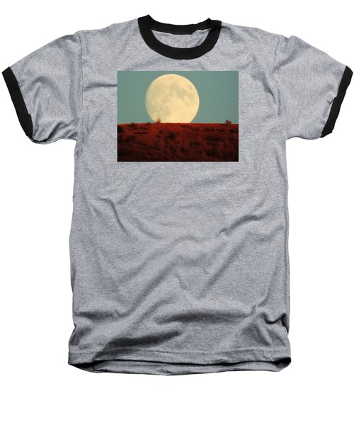 Moon Over Utah Baseball T-Shirt