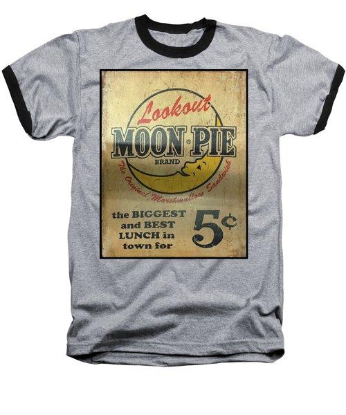 Moon Pie Antique Sign Baseball T-Shirt