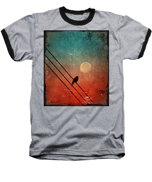 Moon Talk Baseball T-Shirt