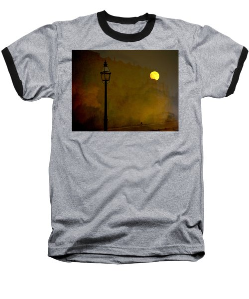 Moon Walker Baseball T-Shirt