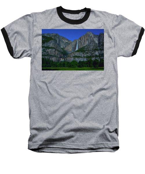 Moonbow Yosemite Falls Baseball T-Shirt