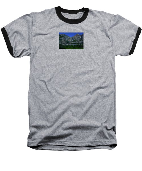 Moonbow Yosemite Falls Baseball T-Shirt