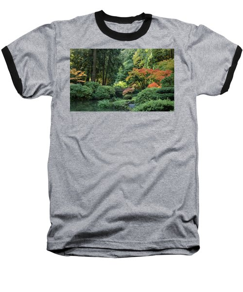 Moonbridge Autumn Serenade Baseball T-Shirt
