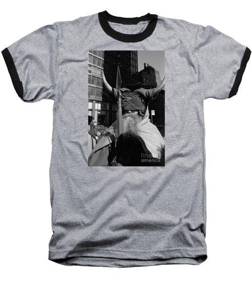 Moondog Nyc Tom Wurl Baseball T-Shirt by Tom Wurl