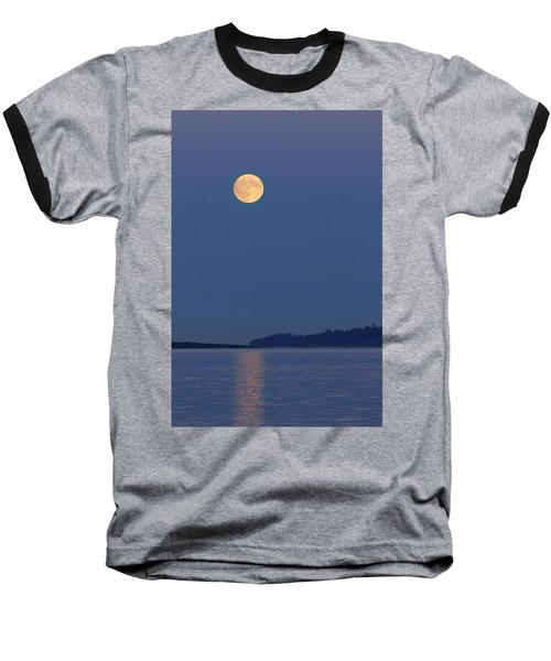 Moonlight - 365-224 Baseball T-Shirt by Inge Riis McDonald