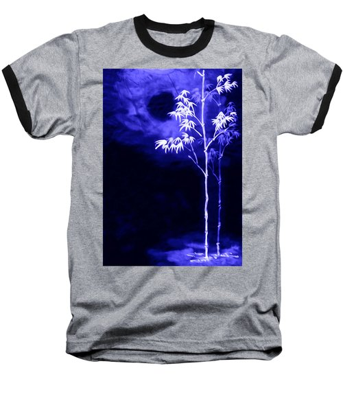 Moonlight Bamboo Baseball T-Shirt by Lanjee Chee