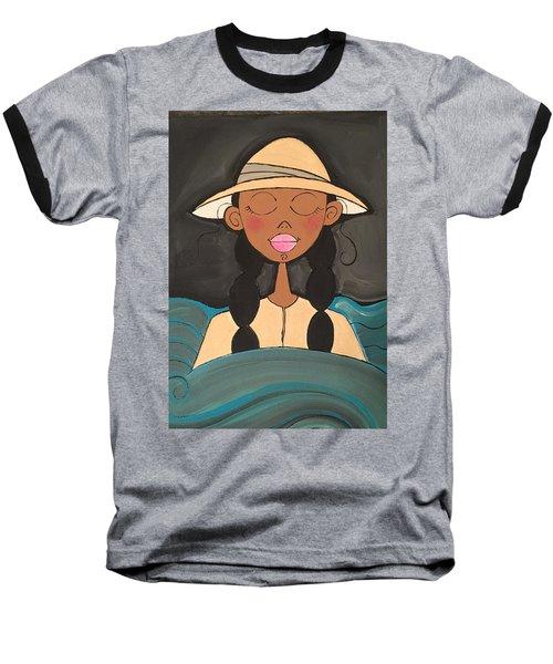 Moonlight Baptismal  Baseball T-Shirt