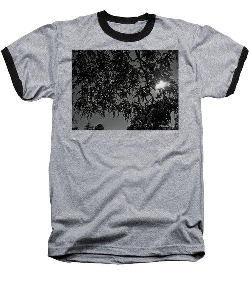 Baseball T-Shirt featuring the photograph Moonlight by Betty Northcutt