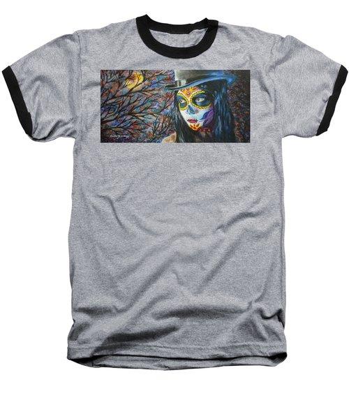 Moonlight Celebration Baseball T-Shirt