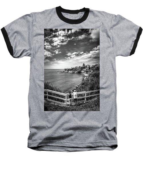 Moonlight Cove Overlook Baseball T-Shirt