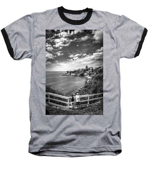 Moonlight Cove Overlook Baseball T-Shirt
