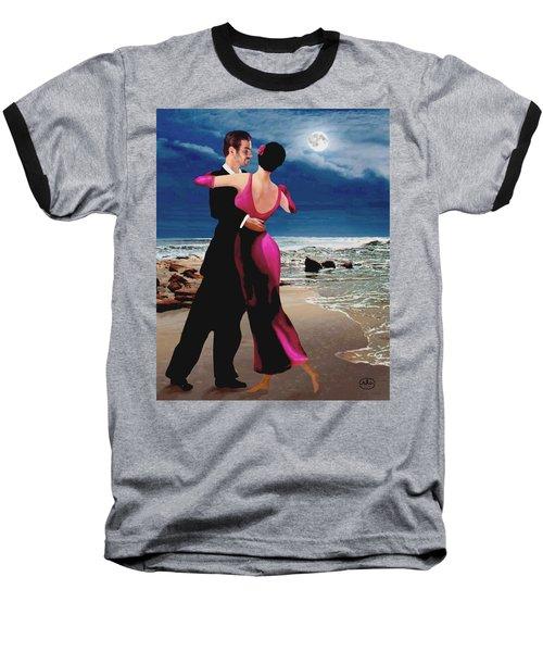 Moonlight Dance Baseball T-Shirt