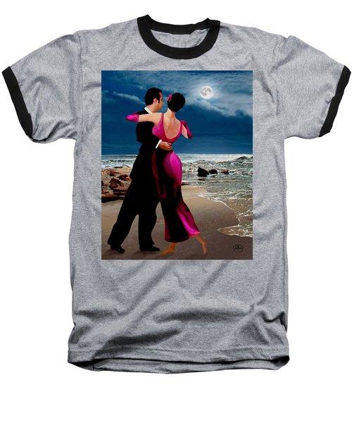 Moonlight Dance V2 Baseball T-Shirt by Ron Chambers