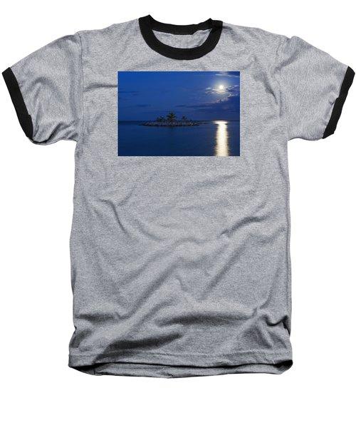 Moonlight Island Baseball T-Shirt