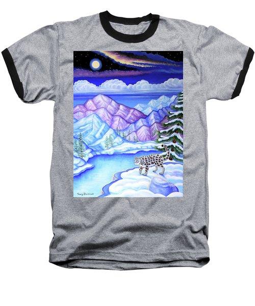 Moonlight Magic Baseball T-Shirt by Tracy Dennison