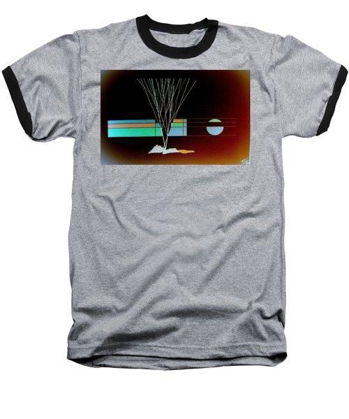 Moonlight Memories Baseball T-Shirt by Bill OConnor