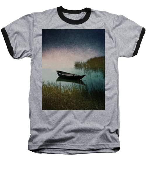 Moonlight Paddle Baseball T-Shirt